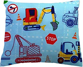 product image for SheetWorld Crib Toddler Pillow Case, 100% Cotton Woven, Construction Zone, 13 x 17, Made in USA