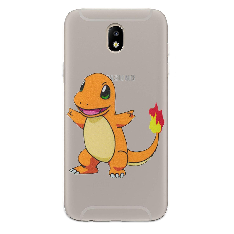 I-CHOOSE LIMITED Pokemon Funda//Carcasa del Tel/éfono para Samsung Galaxy J7 2017 Charmander Gel//TPU