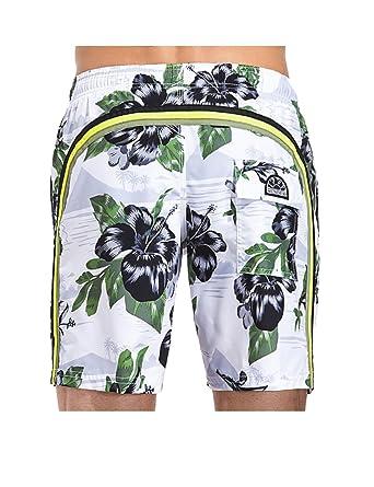 9586851a3f SUNDEK Short de Bain Homme 505 Blanc: Amazon.fr: Vêtements et accessoires