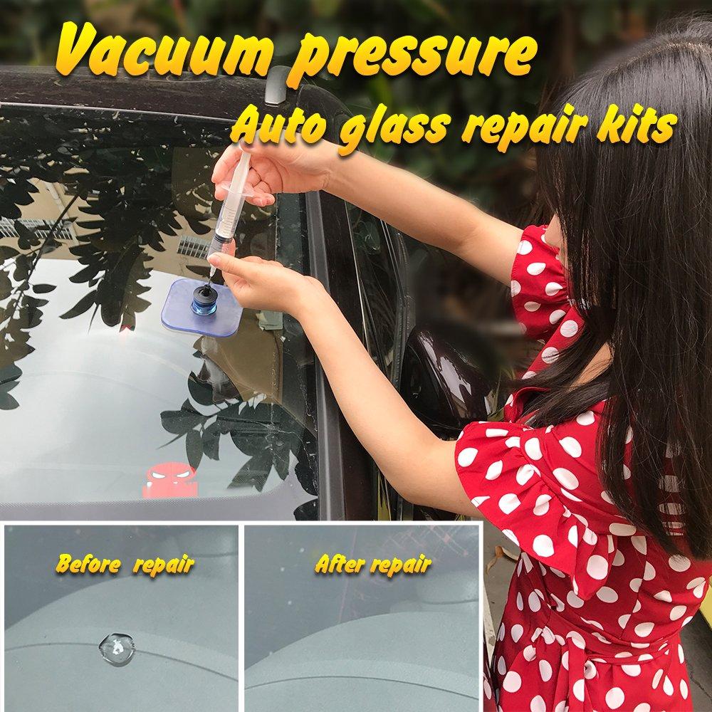 Daphot Store - Car Windshield Repair Kit tools Auto Glass resin permeation repair Crack Restore Window Screen Polishing Car-Styling by Daphot Store (Image #2)