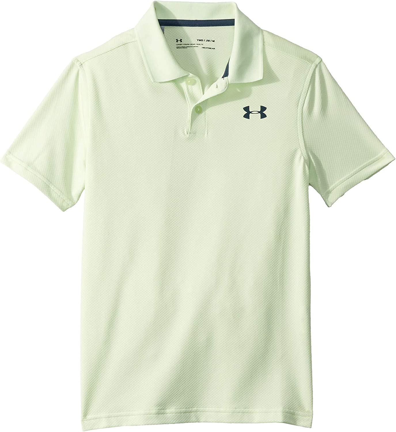 Under Armour Performance 2.0 Camisa Polo, Niños, Verde, YXL ...