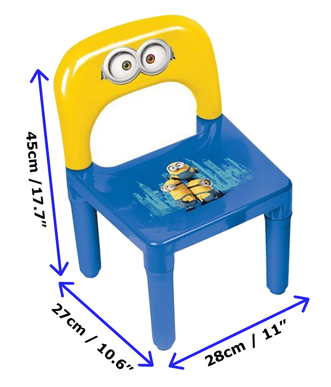 Tavolo e Sedia in Plastica per Bambini Minnie HDIM026