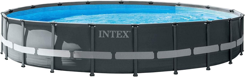 Intex 26334NP Piscina Desmontable Ultra XTR Frame, con depuradora, 610 x 122 cm
