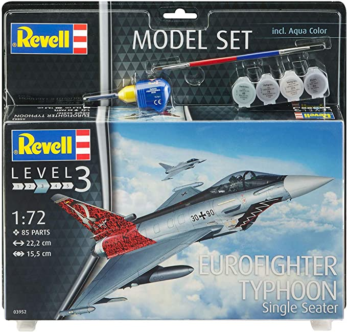 Revell revell63952 Eurofighter Typhoon Modelo Set: Amazon.es: Juguetes y juegos