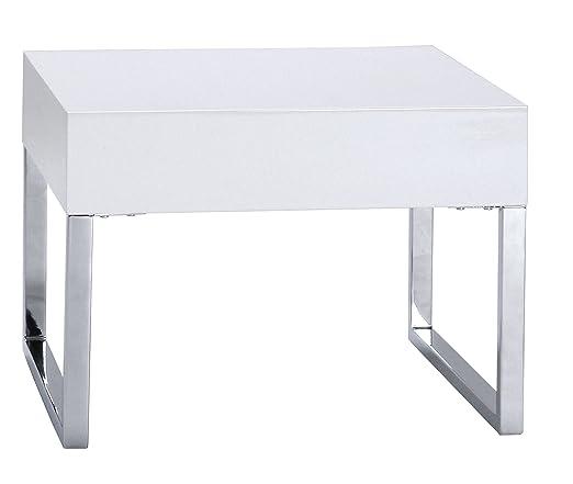 TENZO 3040-001 Scala - Mesa auxiliar (40 x 55 x 55 cm, lacada ...