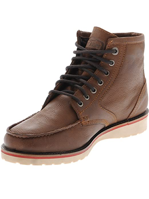 Jesse James Shoe Sturdy Workboot Cognac Brown ylDGj4E