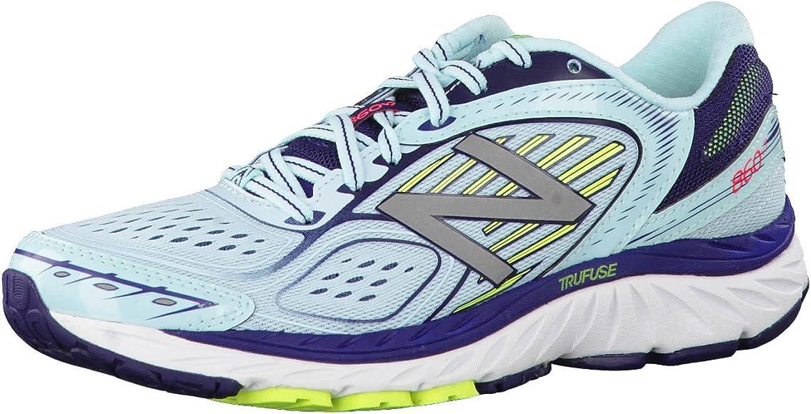 New Balance 860V7 Zapatillas de deporte para mujer, Gris, 36.5 ...