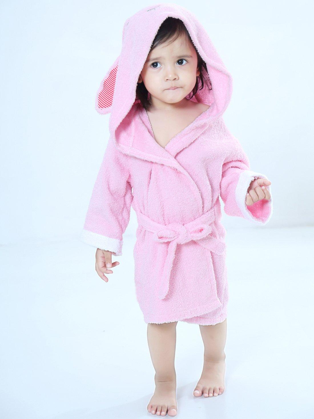 URBEAR Toalla de baño para 100% algodón Pijamas Con Capucha De Baño Para recién nacidos y bebés 1 - 3 años: Amazon.es: Bebé