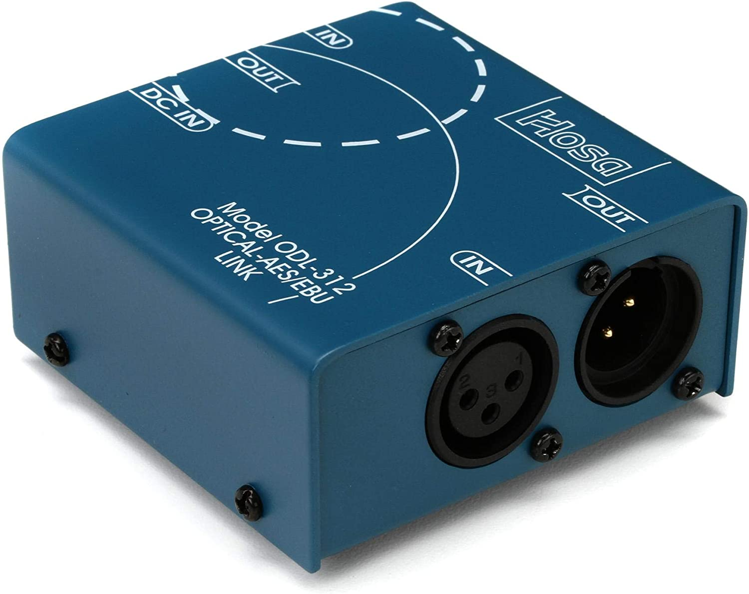 Hosa ODL-312 Optical SPDIF and AESEBU Digital Format Converter (Discontinued by Manufacturer)