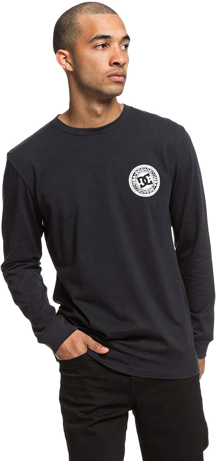 DC Mens Dcnyc Long Sleeve Tee Shirt