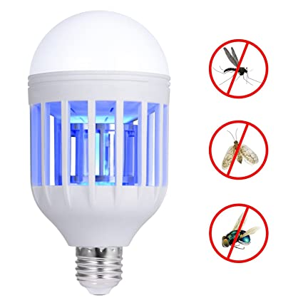 Lights & Lighting 15w 220v E27 Led Mosquito Killer Light Bulb Electronic Anti-mosquito Insect Bug Zapper Killer Lamp Pest Control Flying Moth Trap