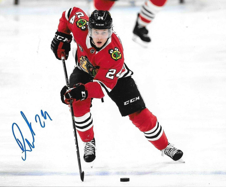4466f2391bf06 Dominik Kahun Signed Photo - 8x10 Hawks 3 - Autographed NHL Photos ...