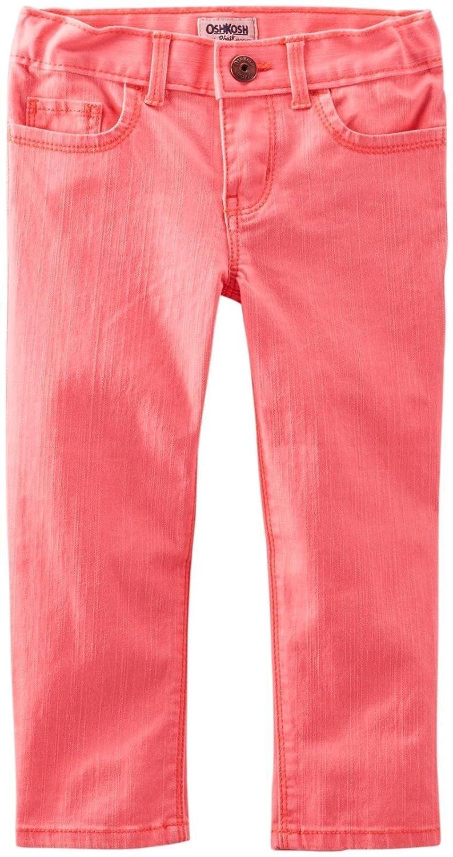 OshKosh BGosh Woven Pants Toddler//Kid Coral-6x
