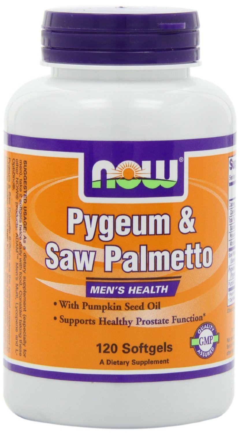 Pygeum and Saw Palmetto, 120 Softgels