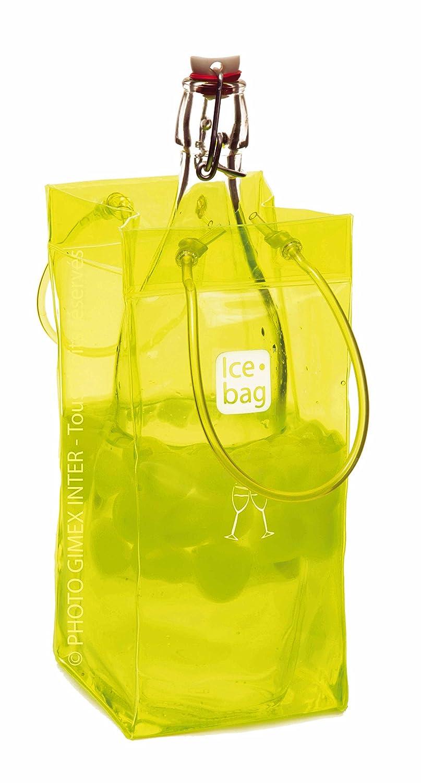 Yellow HomeAndWine.com 17402 Oenophilia Portable Ice Bag