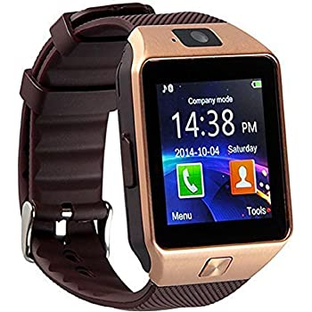 DZ09 Bluetooth Smart Watch Touch Screen with Camera, SIM Card TF/SD Card Slot, Pedometer Activity Tracker for iPhone Android Phones Samsung Huawei PK GT08 ...