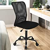 Ergonomic Desk Chair Mid Back Mesh Chair Height Adjustable Office Chair, Home Office Chair Modern Task Computer Chair No…