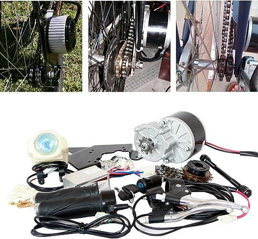 24 V 250 W KIT de BICICLETA ELÉCTRICA KIT DE CONVERSIÓN E-BIKE SCOOTER ELÉCTRICO BICICLETA GNG MOTOR ELÉCTRICO (MONTAJE LATERAL): Amazon.es: Juguetes y juegos