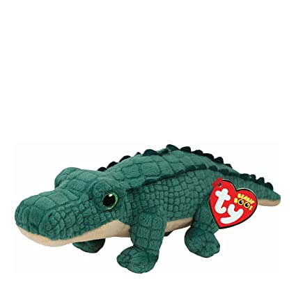 e03ebe53f3f Amazon.com  Ty Beanies Claire s Girl s Boo Small Spike The Alligator Plush  Toy  Ty Beanies  Toys   Games