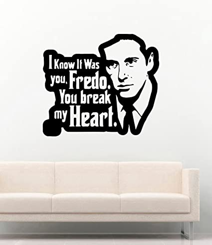 Amazon com: The Godfather Vinyl Wall Decals Film Quotes I Know It