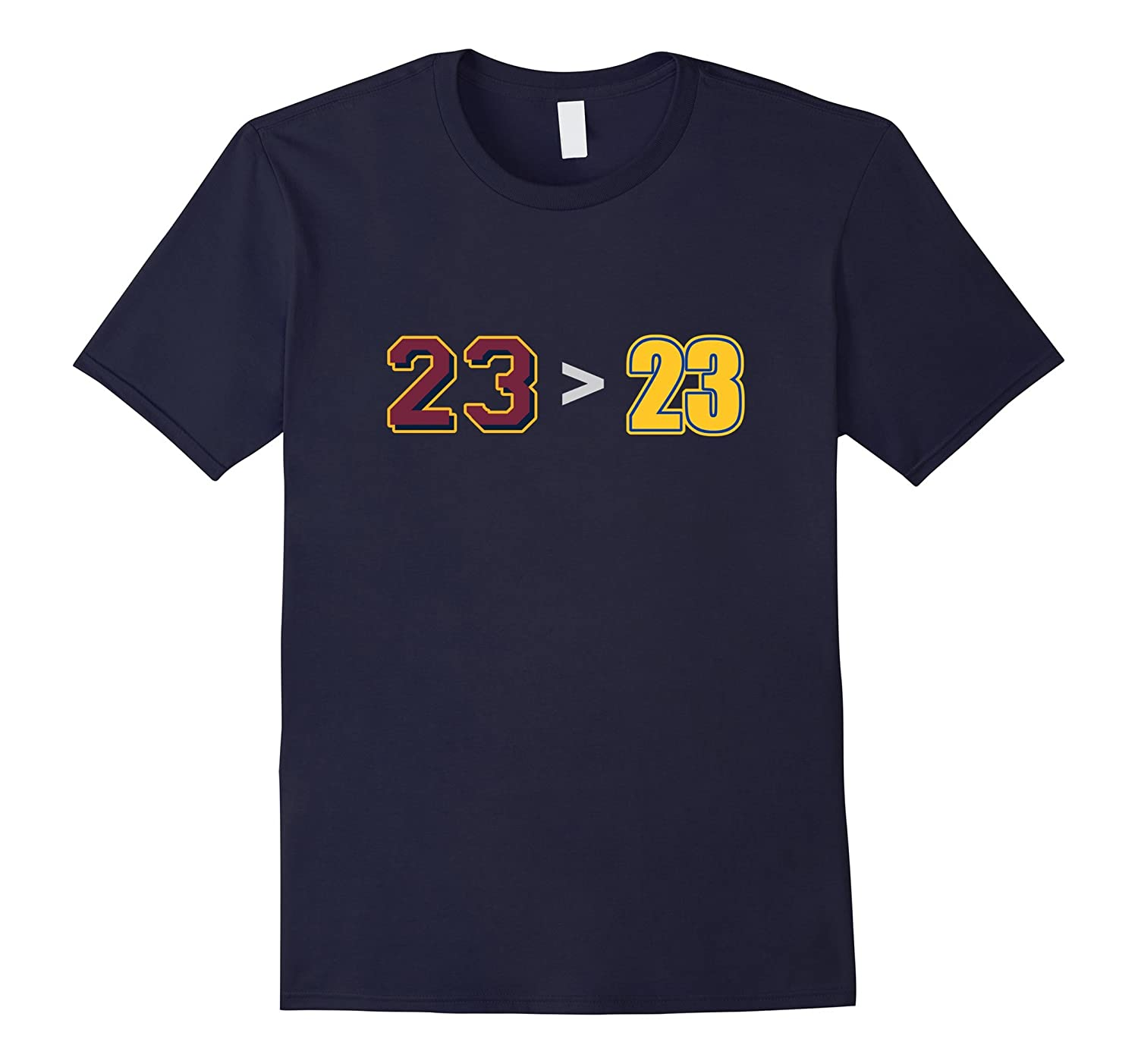 23 Greater Than 23 funny Basketball FInal Shirt-TH