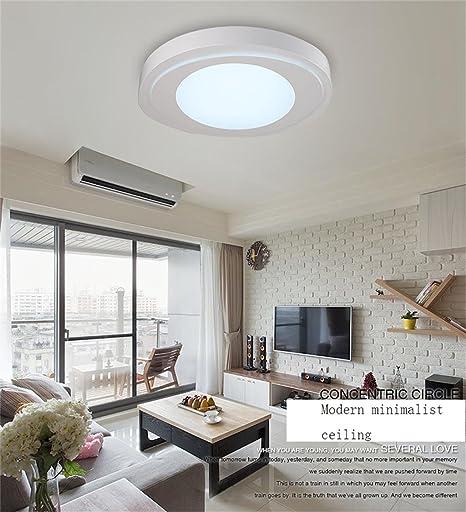 Simple Ceiling Lamp Atmospheric Round Ceiling Living Room