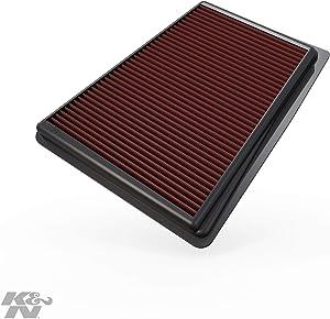 K&N Engine Air Filter: High Performance, Premium, Washable, Replacement Filter: 2009-2017 Hyundai/Kia (Equus, Genesis, Genesis Sedan, K9, K900), 33-2426
