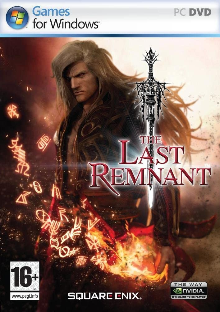 The Last Remnant Xbox 360 Game Case And Manual Only Original Game Cases & Boxes