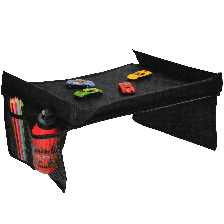 Travel Tray 40x35cm Tavolo da gioco da tavolo multiuso da viaggio, nero Multistore 2002