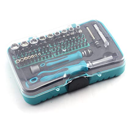 ACENIX® 70 en 1 multifuncional Destornillador Juego de herramientas para iPhone Samsung HTC Laptop PC Nokia ...