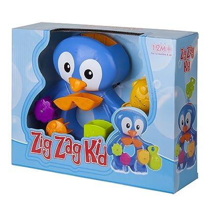 Charmant Bath Toys For Toddlers By ZIG ZAG KID   Fun Penguin BathTub Toy    Interactive U0026