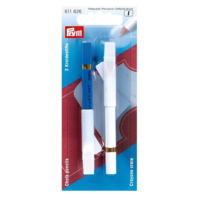 Prym - Matite con gesso per sarti+spazzola per togliere il gesso PRYM_611626-1