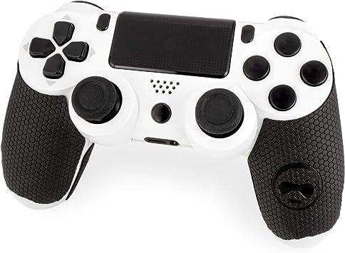 KontrolFreek - Empuñaduras para mando Playstation 4 (PS4), color negro: Amazon.es: Electrónica