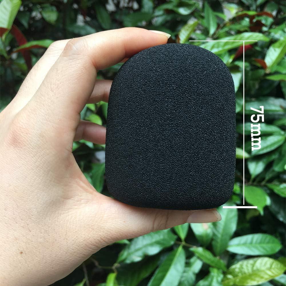 Black BAISDY Foam Mic Cover Handheld Microphone Windscreen