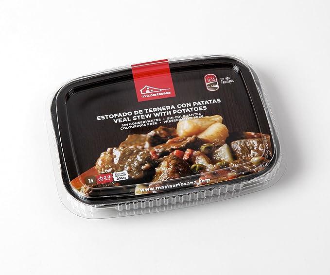 MASIA ARTESANA - Estofado De Ternera Con Patatas - Pack de 3 unidades