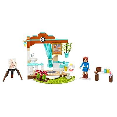 Mega Bloks American Girl Saigeâ€s Art Studio: Toys & Games