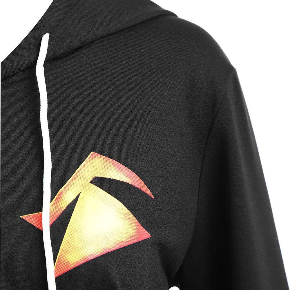 Amacok Women Hooded Halloween Pumpkin Face Printed Sweatshirt Tops Drawstring Hoodie at Amazon Womens Clothing store: