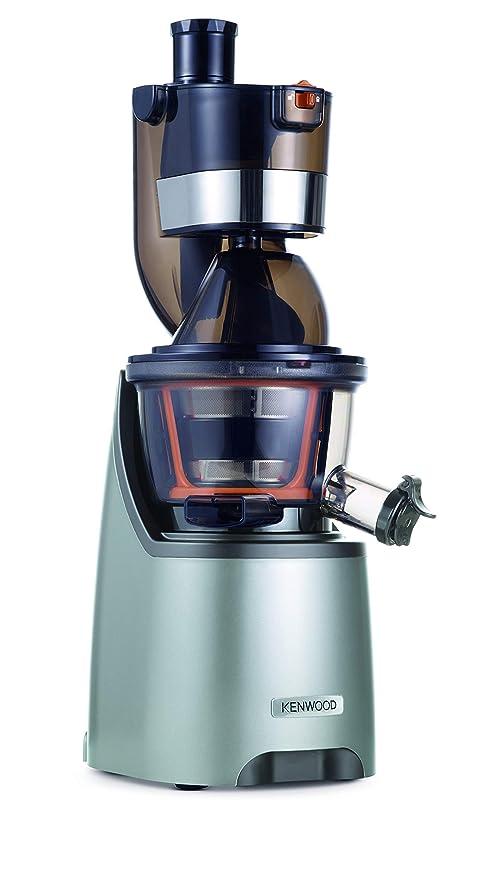 Kenwood PureJuice Pro Extractor de nutrientes, licuadora de zumos naturales, entrada dual alimentos, depósito para pulpa, función aclarado y tapón ...