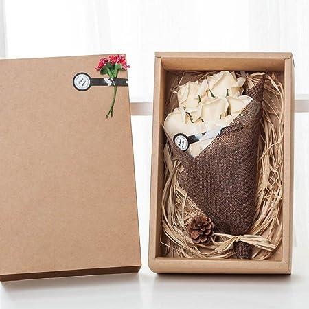 Kaxima madre de flor artificial día 7 jabón flor regalo caja ...