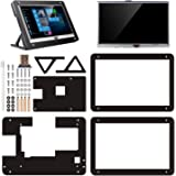 kuman 5 inch Resistive Touch Screen with Protective Case 800x480 HDMI TFT LCD Display Module for Raspberry Pi 3B+/3B 2…