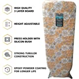 """ADA Extra Large Big Size 18"""" X 48"""" Folding Ironing Board/Iron Table with Press Stand for Home/Ironing Table with Iron Stand/Iron Stand for Ironing Clothes"""