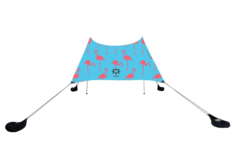 9 pies de Altura x 2,7 m 9 pies 2,7 m 7 pies Limon Neso Tienda Tents Grande Beach Esquinas reforzadas y un Bolsillo m/ás fr/ío 2,1 m