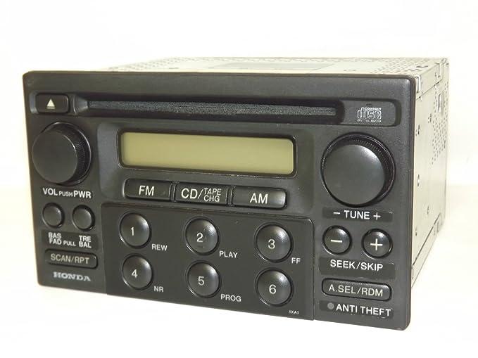 Amazon Honda Accord Radio W Code Am Fm Cd Ipod Aux Input Rhamazon: 2000 Honda Accord Radio At Gmaili.net