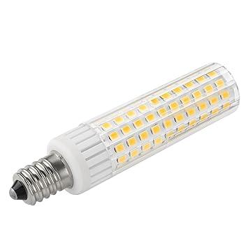 1819 ® E12 LED bombillas 4W Blanco cálido 3000K Bulb equivalentes a Lámparas halógenas de 40W 400LM AC 220-240V(2 piezas): Amazon.es: Hogar