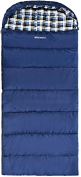 REDCAMP 2lbs Cotton Flannel Sleeping Bag