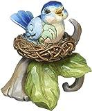 "Department 56 Jim Shore Heartwood Creek Mini Bluebird"" Nest Figurine, 3"""