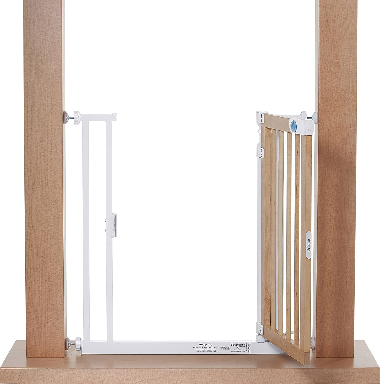Impag® Türschutzgitter Treppenschutzgitter Weiß lackiert 119 - 125 ...