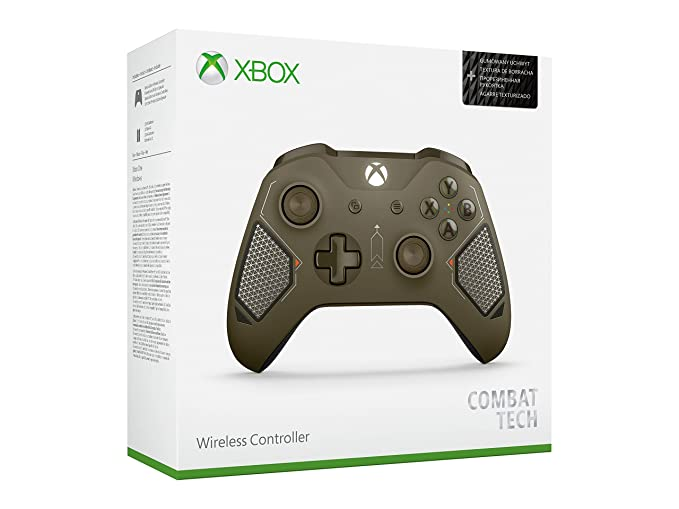 Official Xbox Wireless Controller - Combat Tech Special Edition (Certified Refurbished)