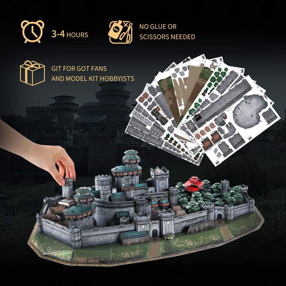 Rompecabezas 3D de Game of Thrones Winterfall