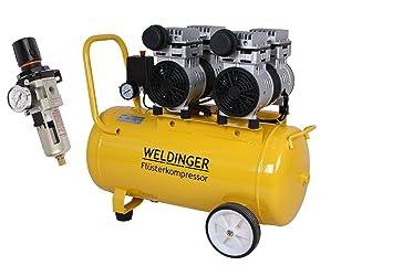 Kit de weldinger Compresor silenciosos FK 180 + weldinger Impresión regulador de aire en ECO: Amazon.es: Bricolaje y herramientas